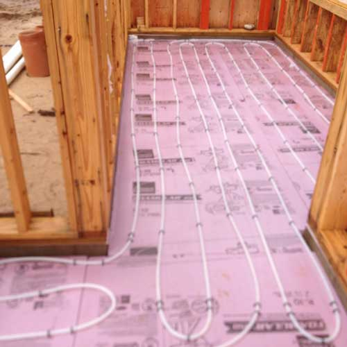Radiant floors precision plumbing heating for Warm toes radiant heat